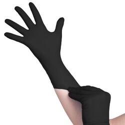 Item A104973 SINGLE sort handske NITRIL