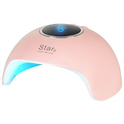 UV LED LAMP 24W PINK STAR 6
