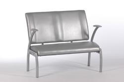 Item 35411005 Ventebænk i sølvgrå