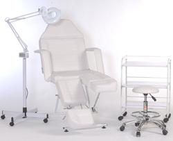 Item 61111210 Klinikudstyr Fodpleje kabine Lady Foot standard