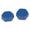 Item 301601 Low Melting Wax / Fingervoks BLUE MEDIUM 1kg.